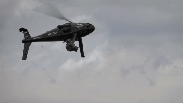 CAMCOPTER<sup><sup>&reg;</sup></sup> S-100 Aerial Cinematography Trailer