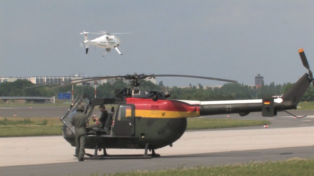 CAMCOPTER<sup>®</sup> S-100 Berlin Air Show (ILA 2010)