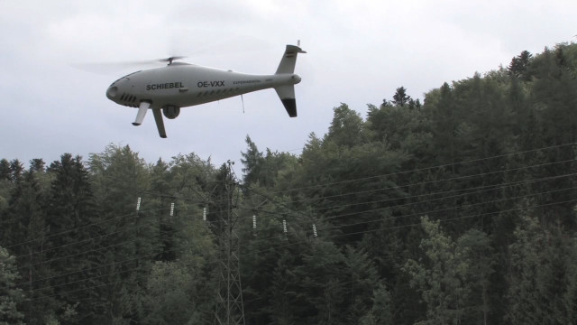 CAMCOPTER<sup>&reg;</sup> S-100 Power Line Surveillance