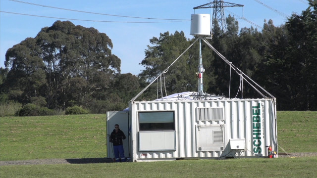 CAMCOPTER<sup>&reg;</sup> S-100 Power Line Surveillance (New Zealand)