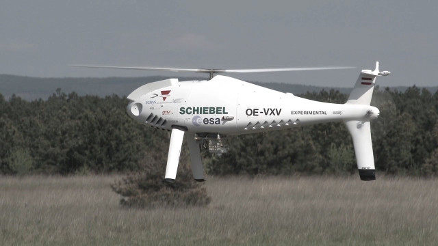 CAMCOPTER<sup>&reg;</sup> S-100 Precision Landing GNC Demo