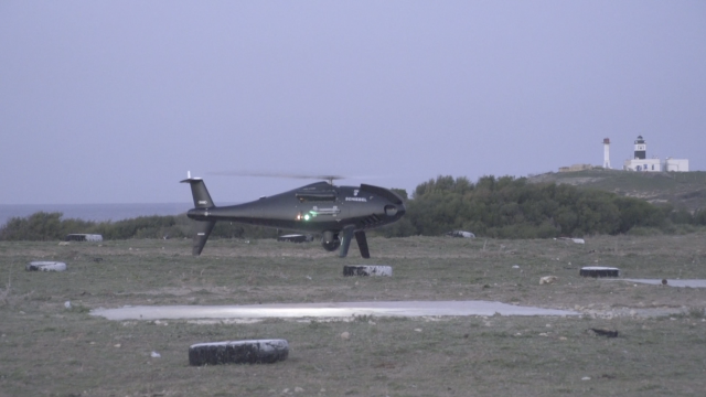 CAMCOPTER<sup>&reg;</sup> S-100 Tunisian Army Trials