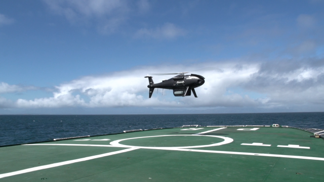 CAMCOPTER<sup>®</sup> S-100 South African Navy Trials