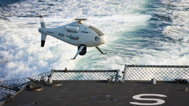 CAMCOPTER<sup>&reg;</sup> S-100 UAS &#8211; Maritime Supremacy