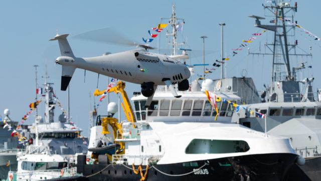CAMCOPTER<sup>®</sup> Belgian Navy Trials