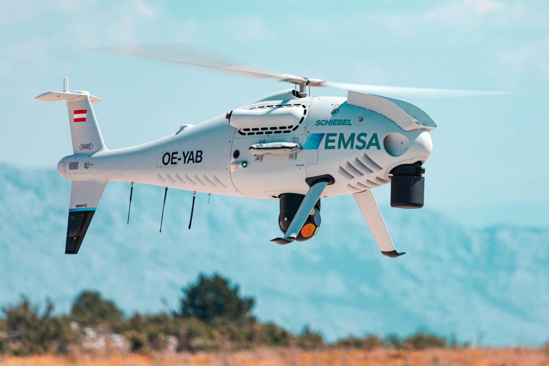Modello Camcopters S-100 affidato alla Guardia Costiera croata Credits: Schiebel.net