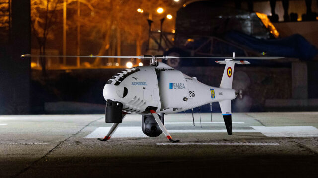 Schiebel CAMCOPTER<sup>®</sup> S-100 – EMSA Maritime Surveillance Romania